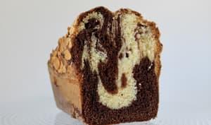 Marbré chocolat et amandes vanille