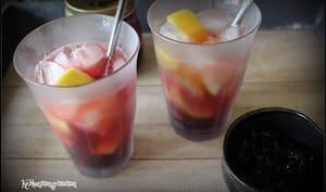 Pink lemonade à l'hibiscus