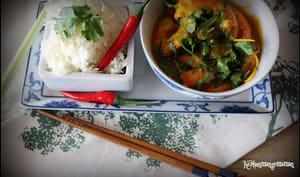 Curry de crevettes thaï à la citronnelle