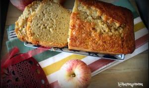 Cake aux pommes vanillées