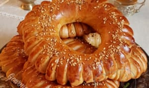 Kaak Brioché Algérien | Gourmandise Assia