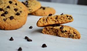 Cookies au beurre de cacahuètes et avoine