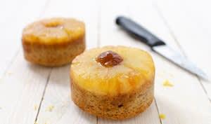 Gâteau renversé à l'ananas sans gluten