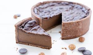 Flan au chocolat sans gluten