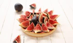 Tarte aux figues sans gluten