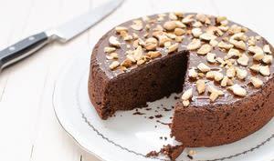 Gâteau chocolat betterave sans gluten