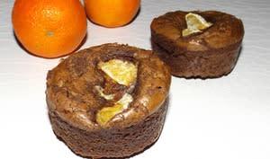 Brownie chocolat et clémentine