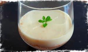 Crème Légère au Citron sur Lit de Roudor®