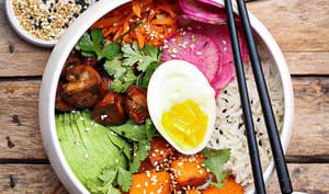 Rice bowl végétarien