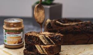 Banana bread healthy aux pépites de chocolat noir