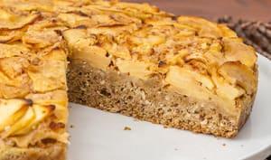 Gâteau belge aux pommes et amandes