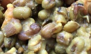 Haricots mungo et patates douces
