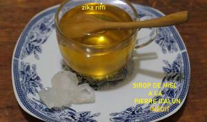Sirop de miel à l'alun