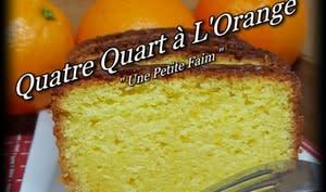 Quatre quart à l'orange