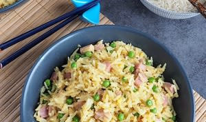 Riz cantonais au jambon