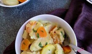 Poulet au curry et aux patates douces