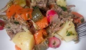 Salade de pot au feu à l'ancienne