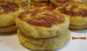 Pancakes au fromage frais à la noix de coco