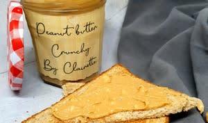 Beurre de cacahuètes crunchy