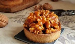 Tartes aux noix caramélisées