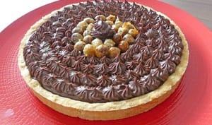 Tarte piémontaise au chocolat