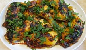Cuisses de poulet au paprika, cuites au four - Recette en vidéo