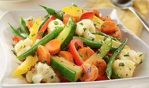 Légumes cuisson vapeur