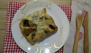 Paniers feuilletés aux champignons et Reblochon
