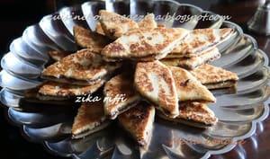 Gâteaux de semoule aux dattes