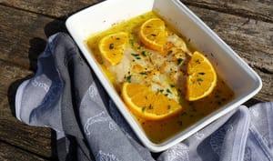 Filet de dorade sébaste à l'orange