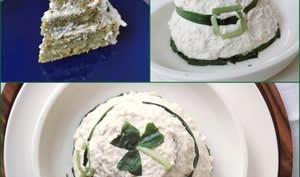Cake salé au cresson