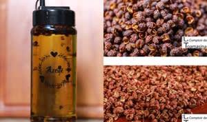 Huile parfumée au poivre Timut