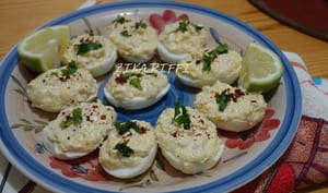 Oeufs farcis thon mayonnaise