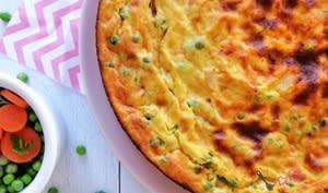 Gâteau de semoule aux légumes