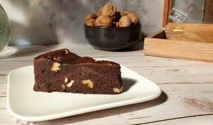 Brownie chocolat et noix