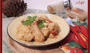 Mijoté de poulet au chou-fleur