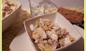 Salade endives pommes de terre et thon