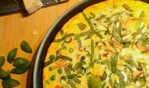 Fritatta aux légumes printaniers