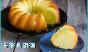Babka au citron