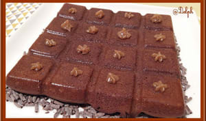 Fondant au chocolat crème de marrons