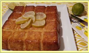 Cake au mascarpone et citron vert