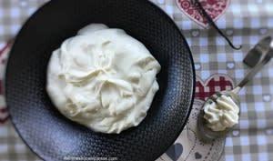 Crème diplomate à la vanille