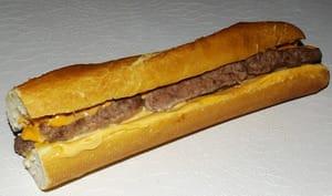 Baguette hamburger