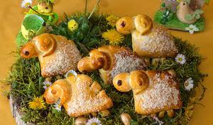 Moutons briochés pour Pâques