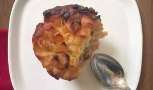 Muffins pomme caramel beurre salé