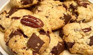 Cookies chocolat pécan