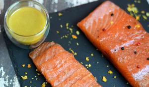 Sauce moutarde pour saumon gravlax