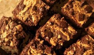 Brownie chocolat beurre de cacahuètes