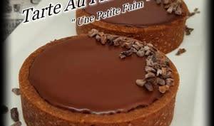 Tarte au flan chocolat