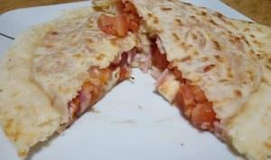 Les galettes tomates jambon mozza